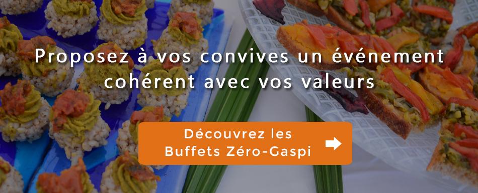 Buffets Zéro-Gaspi animés